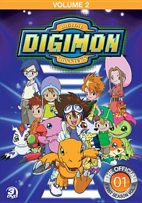 DIGIMON ADVENTURE:VOL 2 BY DIGIMON (DVD)
